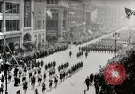 Image of American troops parade on 5th Avenue in New York City New York United States USA, 1919, second 4 stock footage video 65675025332