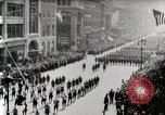 Image of American troops parade on 5th Avenue in New York City New York United States USA, 1919, second 5 stock footage video 65675025332