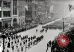 Image of American troops parade on 5th Avenue in New York City New York United States USA, 1919, second 6 stock footage video 65675025332