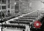 Image of American troops parade on 5th Avenue in New York City New York United States USA, 1919, second 10 stock footage video 65675025332