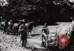 Image of Men and machines building a concrete highway United States USA, 1920, second 3 stock footage video 65675025339