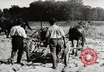 Image of Men and machines building a concrete highway United States USA, 1920, second 5 stock footage video 65675025339