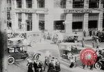Image of Early traffic controls for vehicles and pedestrians in American Cities United States USA, 1925, second 2 stock footage video 65675025348