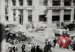 Image of Early traffic controls for vehicles and pedestrians in American Cities United States USA, 1925, second 3 stock footage video 65675025348
