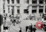 Image of Early traffic controls for vehicles and pedestrians in American Cities United States USA, 1925, second 5 stock footage video 65675025348