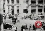 Image of Early traffic controls for vehicles and pedestrians in American Cities United States USA, 1925, second 6 stock footage video 65675025348