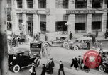 Image of Early traffic controls for vehicles and pedestrians in American Cities United States USA, 1925, second 7 stock footage video 65675025348