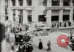 Image of Early traffic controls for vehicles and pedestrians in American Cities United States USA, 1925, second 11 stock footage video 65675025348