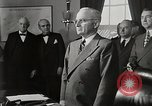 Image of General Marshall is sworn in Washington DC USA, 1947, second 10 stock footage video 65675025349