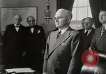 Image of General Marshall is sworn in Washington DC USA, 1947, second 12 stock footage video 65675025349