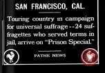 Image of Women suffragettes San Francisco California USA, 1918, second 2 stock footage video 65675025351