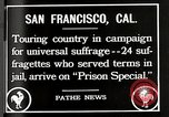 Image of Women suffragettes San Francisco California USA, 1918, second 3 stock footage video 65675025351