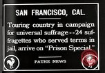 Image of Women suffragettes San Francisco California USA, 1918, second 4 stock footage video 65675025351