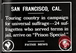 Image of Women suffragettes San Francisco California USA, 1918, second 6 stock footage video 65675025351