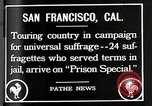 Image of Women suffragettes San Francisco California USA, 1918, second 7 stock footage video 65675025351