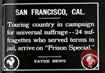 Image of Women suffragettes San Francisco California USA, 1918, second 8 stock footage video 65675025351