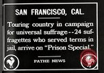 Image of Women suffragettes San Francisco California USA, 1918, second 9 stock footage video 65675025351