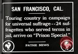 Image of Women suffragettes San Francisco California USA, 1918, second 10 stock footage video 65675025351