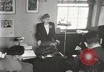 Image of Clare Boothe Luce Washington DC USA, 1950, second 3 stock footage video 65675025357