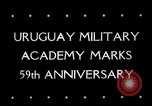 Image of Uruguay Military Academy Montevideo Uruguay, 1944, second 4 stock footage video 65675025363