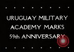 Image of Uruguay Military Academy Montevideo Uruguay, 1944, second 6 stock footage video 65675025363