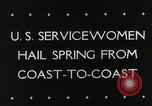 Image of US service women Washington DC USA, 1944, second 5 stock footage video 65675025369