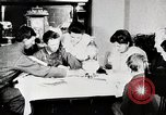 Image of American boys and women read United States USA, 1915, second 6 stock footage video 65675025392
