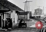 Image of Railroad train Ohio United States USA, 1915, second 12 stock footage video 65675025396