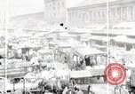 Image of Busy market street United States USA, 1919, second 2 stock footage video 65675025398