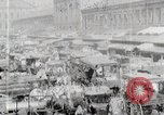 Image of Busy market street United States USA, 1919, second 3 stock footage video 65675025398
