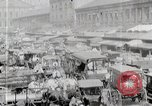 Image of Busy market street United States USA, 1919, second 4 stock footage video 65675025398