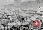 Image of Busy market street United States USA, 1919, second 5 stock footage video 65675025398