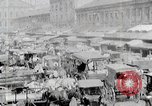 Image of Busy market street United States USA, 1919, second 6 stock footage video 65675025398