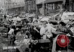 Image of Busy market street United States USA, 1919, second 8 stock footage video 65675025398