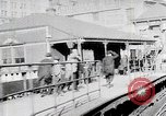 Image of Train passing Hippodrome New York United States USA, 1919, second 12 stock footage video 65675025399