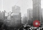 Image of Flat Iron Building New York City USA, 1919, second 2 stock footage video 65675025401