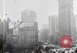 Image of Flat Iron Building New York City USA, 1919, second 4 stock footage video 65675025401