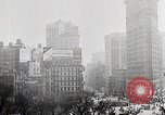 Image of Flat Iron Building New York City USA, 1919, second 7 stock footage video 65675025401