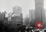 Image of Flat Iron Building New York City USA, 1919, second 9 stock footage video 65675025401