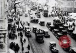 Image of busy street New York United States USA, 1919, second 2 stock footage video 65675025402