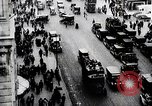 Image of busy street New York United States USA, 1919, second 5 stock footage video 65675025402