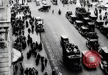 Image of busy street New York United States USA, 1919, second 6 stock footage video 65675025402