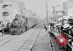 Image of train station United States USA, 1919, second 4 stock footage video 65675025407