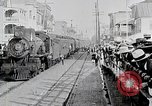 Image of train station United States USA, 1919, second 7 stock footage video 65675025407