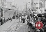 Image of train station United States USA, 1919, second 10 stock footage video 65675025407