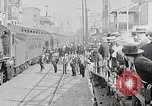 Image of train station United States USA, 1919, second 12 stock footage video 65675025407