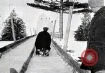 Image of Luge race United States USA, 1919, second 8 stock footage video 65675025414