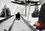 Image of Luge race United States USA, 1919, second 9 stock footage video 65675025414
