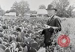 Image of Luther Burbank with cactus United States USA, 1919, second 5 stock footage video 65675025419