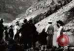 Image of City people mountain climbing Western United States USA, 1919, second 4 stock footage video 65675025422
